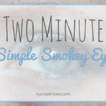 2 Minute Simple Smokey Eye