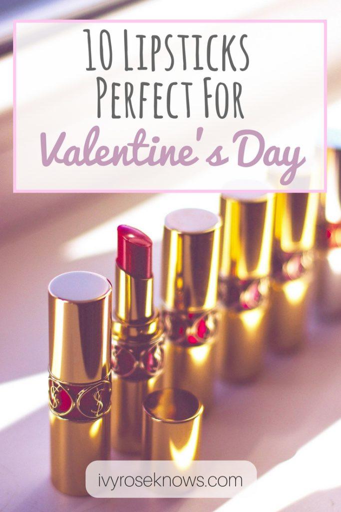 10 Lipsticks Perfect For Valentine's Day