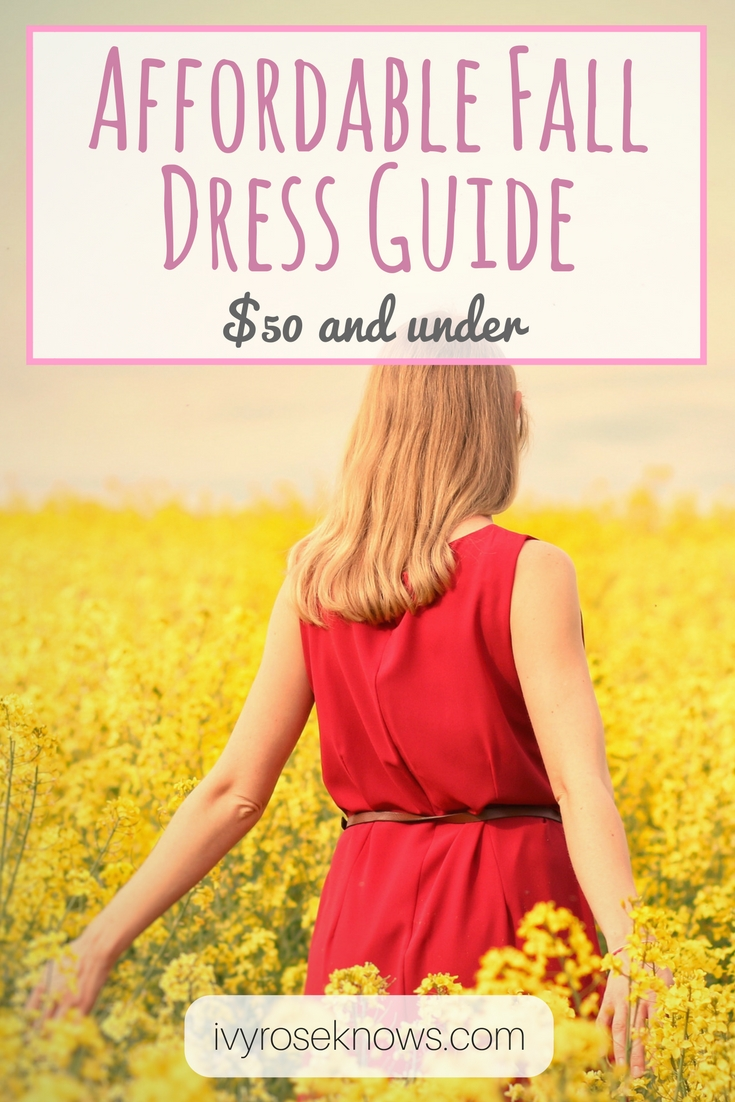 Affordable Fall Dress Guide (1)