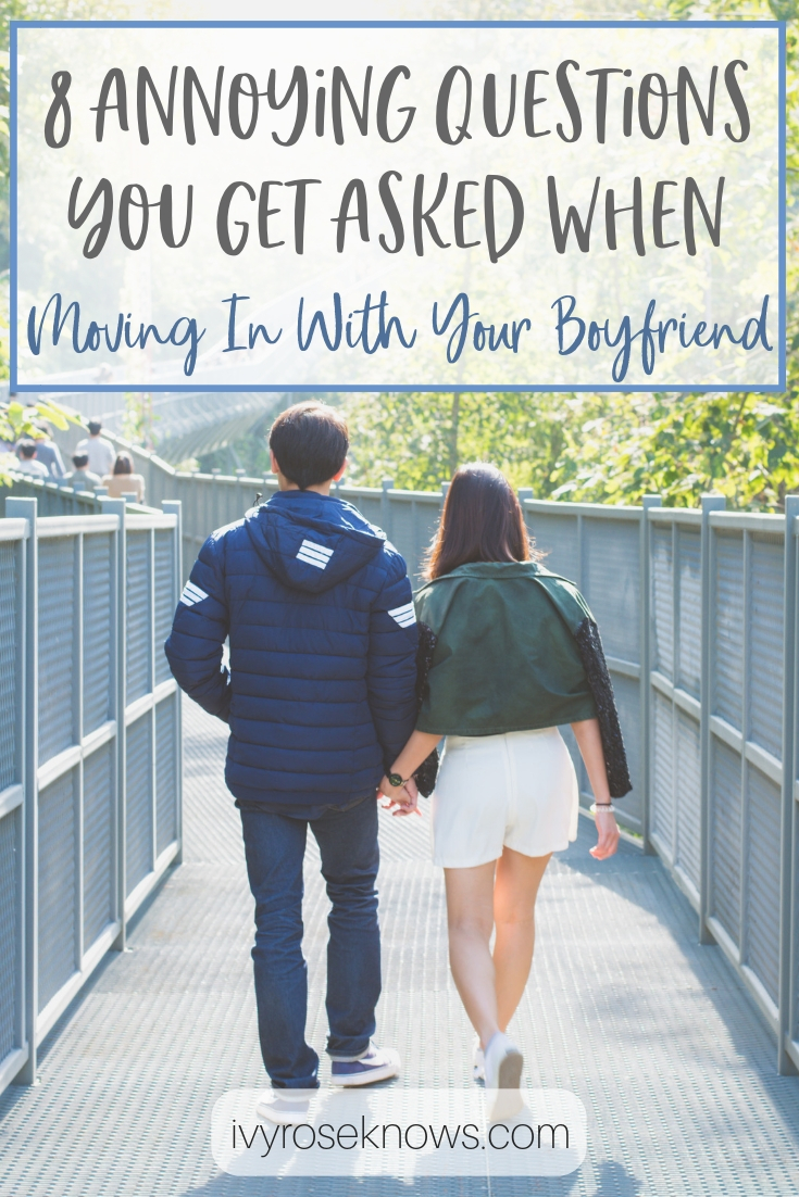 moving in with boyfriend